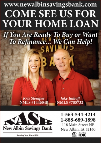 Come See Us for Your Home Loan