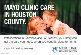 Mayo Clinic Care in Houston County