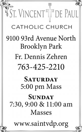 5:00pm Mass
