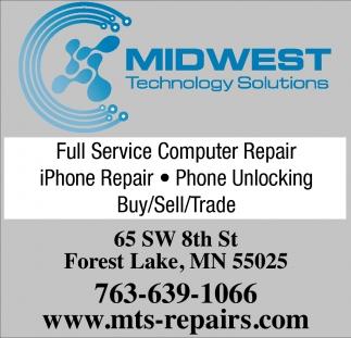 Full Service Computer Repair