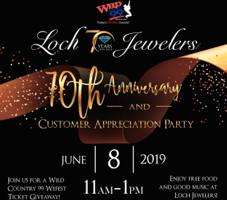 10th Anniversary and Customer Appreciation Party