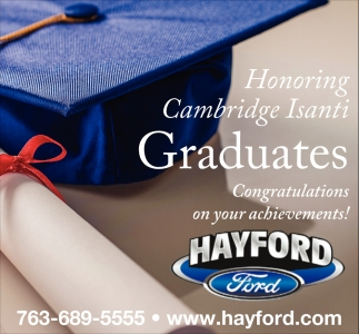 Honoring Cambridge Isanti Graduates
