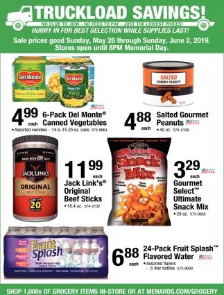Truckload Savings!, Menards, Richfield, MN