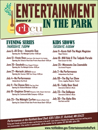 Entertainment in the Park