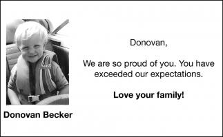 Donovan Becker