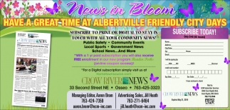 Have a Great Time at Albertville Friendly City Days