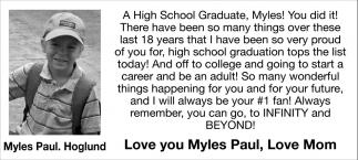 Myles Paul- Hoglund
