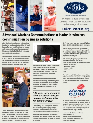 Lakeville Works - Lakeville Area Chamber of Commerce