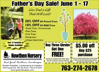Give Dad a Gift that Will Last!
