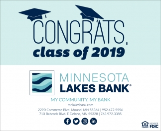 Congrats, Class of 2019
