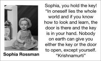 Sophia Rossman