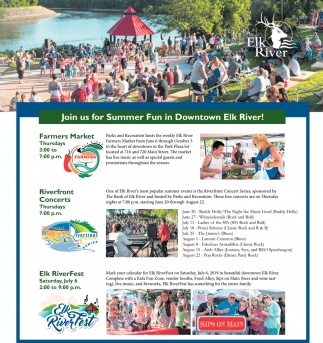 Join Us for Summer Fun in Downtown Elk River!