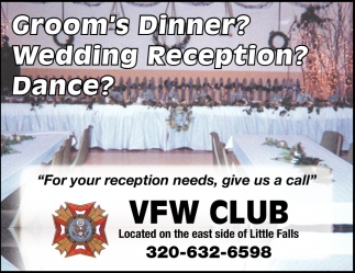 For You Reception Needs, Give Us a Call