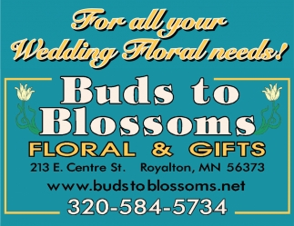 For All Your Wedding Floral Needs!