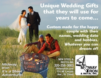 Unique Wedding Gifts that they Will Use for Years to Come