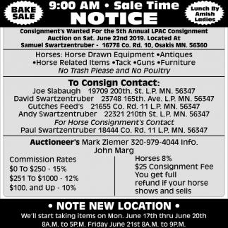 Sale Time Notice