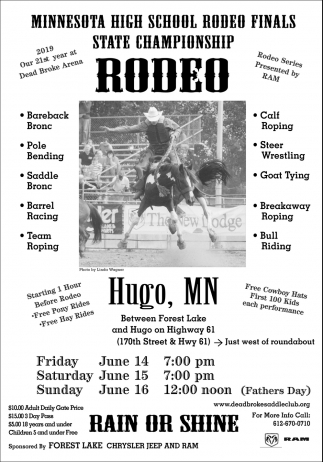 State Championship Rodeo 2019
