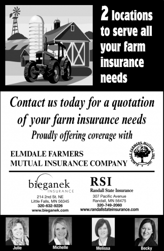 2 Locations to Serve All Your Farm Insurance Needs