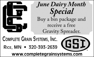 June Dairy Month Special