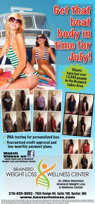 Get that Boat Body in Time for July!