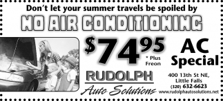 Don't Let Your Summer Travel be Spoiled by No Air Conditoning