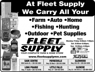Your Complete Farm & Home Store