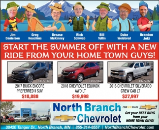Start the Summer Off with a New Ride from Your Home Town Guys!