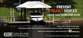 Prevent Deadly Shocks