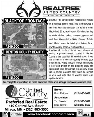 Blacktop Frontage