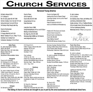 Church Services