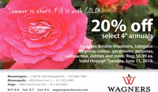 20% OFF selected 4