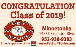 Congratulation Class of 2019!
