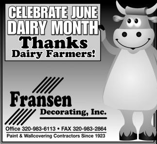 Thanks Dairy Farmers!