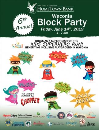 6th Annual Waconia Block PArty