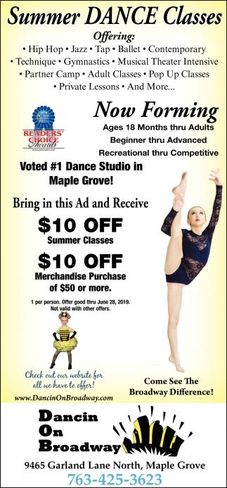 Summer Dance Classes