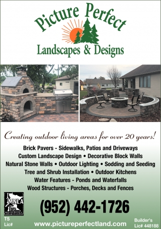 Creating Outdoor Living Area for Over 20 Years!