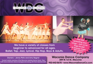 We Have a Variety of Classes from Begginner to Advanced for All Ages