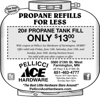 Propane Refills for Less