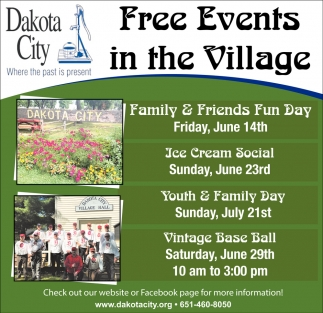 FREE Events in the Village