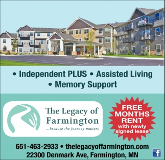 FREE Months Rent with Newly Signed Lease