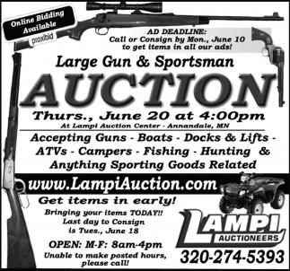 Large Gun & Sportsman