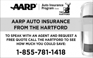 AARP Auto Insurance from the Hartford