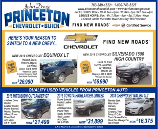 Chevy Memorial Day Sales Event