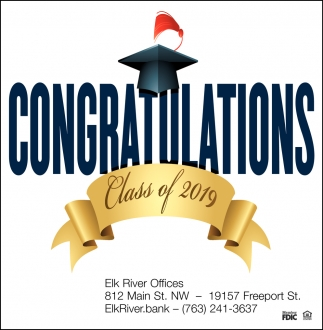Congrations Class of 2019