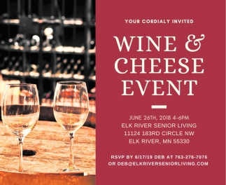 Wine & Cheese Event
