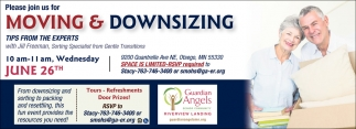 Please Join Us for Moving & Downsizing