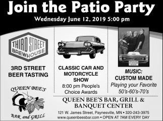Join the Patio Party