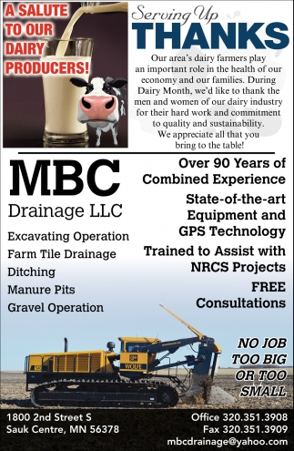 A Salute to Our Dairy Producers!