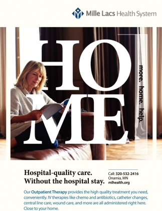 Hospital-Quality Care. Without the Hospital Stay