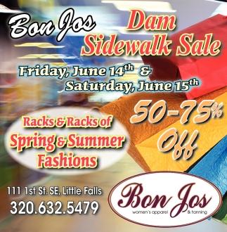 Dam Sidewalk Sale